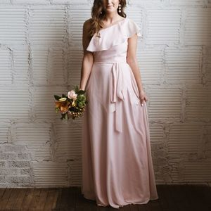 Blush Pink Bridesmaid Dress